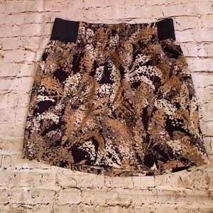 Gap elastic waistband skirt with pockets